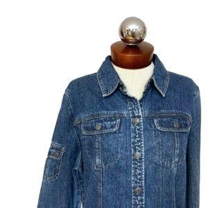 New Vintage 90's denim jacket EXPRESS bleus L
